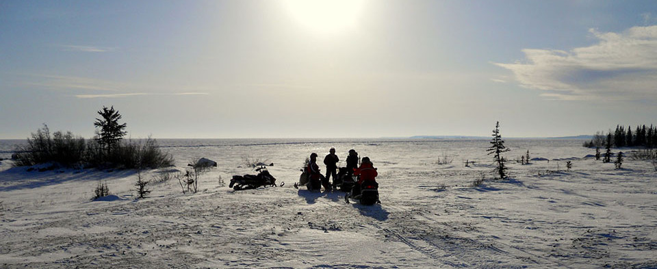 Shore of Great Slave Lake